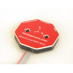 Gyro, MultiSensitivity Accelerometer and Compass for NXT(RPMS010